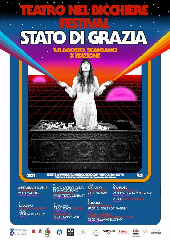 Programma Teatro nel Bicchiere 2021